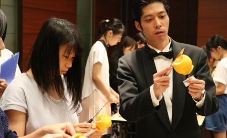 【전문학교】 【日本ホテルスクール】 일본호텔스쿨_호텔/웨딩/레스토랑 스텝 체험하기!