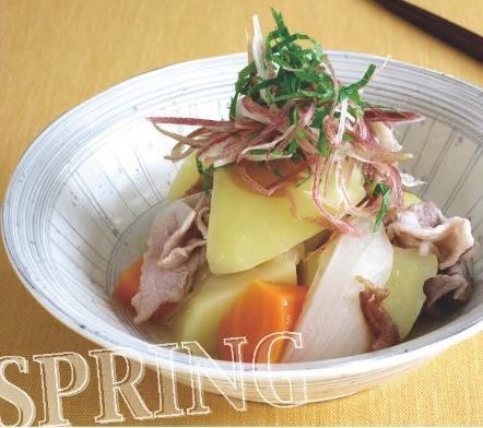 【服部栄養専門学校】清爽的猪肉炖土豆
