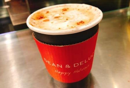 【日本美食】DEAN&DELUCAの『印度奶茶chai拿铁』