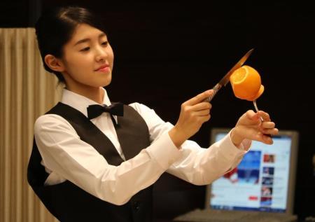 【專門學校・餐旅管理】【日本ホテルスクール】 第4屆專門學校日本Hotel School餐飲服務技能競賽