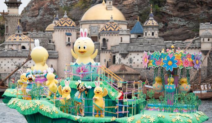일본 디즈니랜드 신캐릭터 우사삐요 (6).JPG