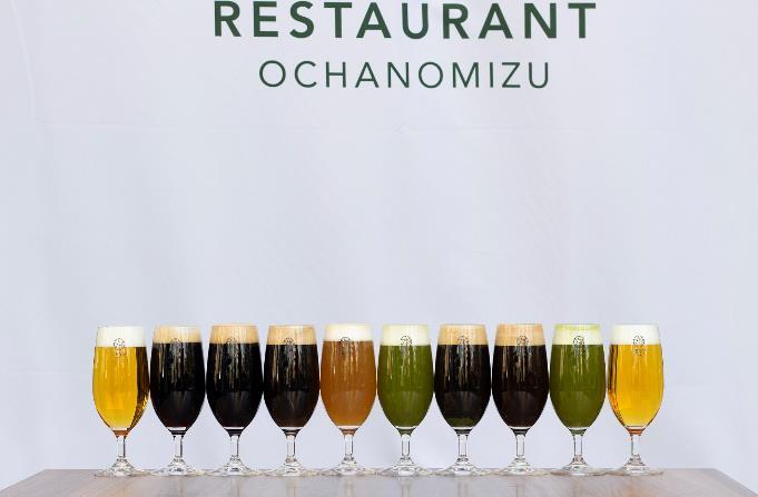 레스토랑 1899 오차노미즈 말차맥주 (4).JPG