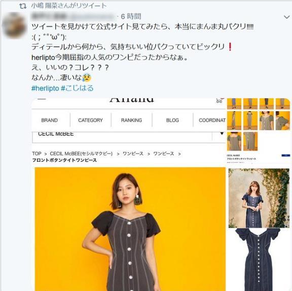 코지마 하루나 브랜드 허립투 표절의혹  (6).JPG