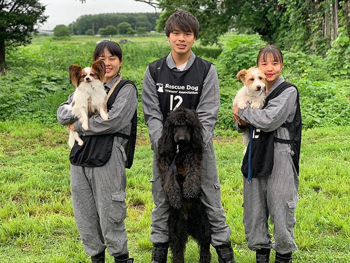 일본 강아지학교_재해구조견 시험 합격 (1).JPG