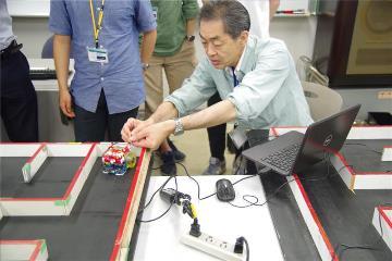 로봇대회 마이크로 마우스 준비_일본전자전문학교  (5).JPG