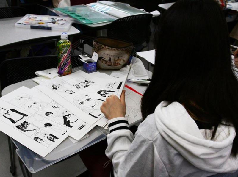 일본만화학교_도쿄디자인전문학교_스토리만화 수업 (2).JPG