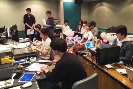 일본유학_동방학원_라디오 방송음향 참여 (1).JPG