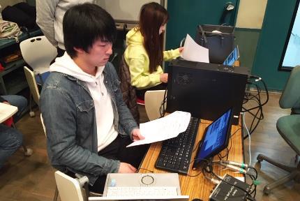 일본유학_동방학원_라디오 방송음향 참여 (2).JPG